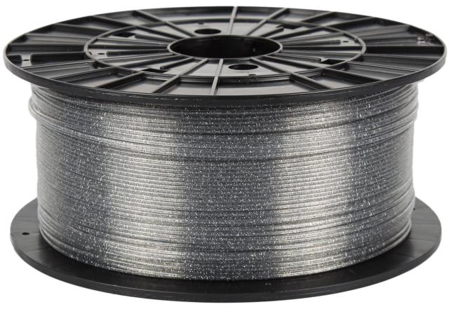 ABS-T - transparentní s flitry (1,75 mm; 1 kg)
