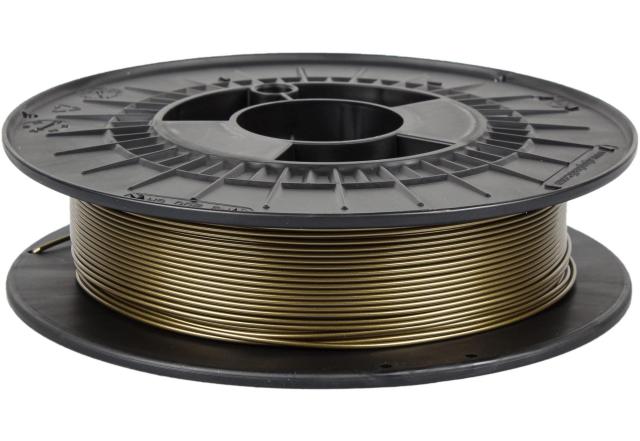 PETG metalická edice - žabí zlato (1,75 mm; 0,5 kg)