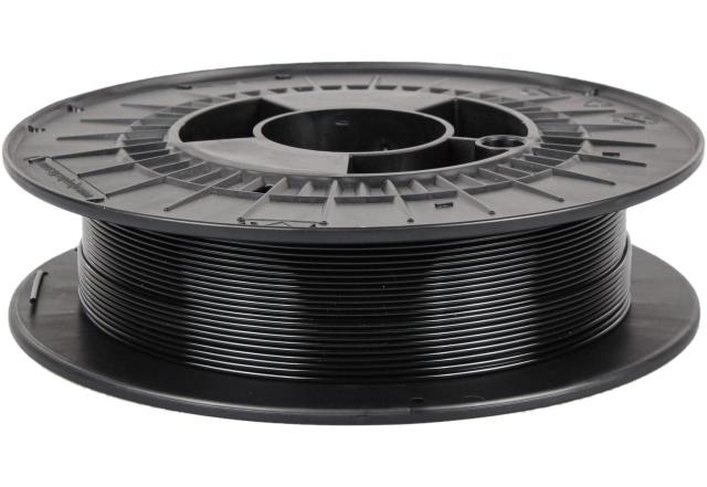 PETG - transparentní černá (1,75 mm; 0,5 kg)