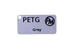 Vzorek PETG - šedá (1,75 mm; 10 m)