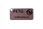 Vzorek PETG metalická edice - kávová bronzová (1,75 mm; 10 m)