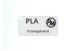 Vzorek PLA - transparentní (1,75 mm; 10 m)