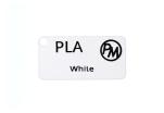 Vzorek PLA - bílá (1,75 mm; 10 m)