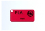 Vzorek PLA - červená (1,75 mm; 10 m)