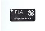 Vzorek PLA - grafitová černá (1,75 mm; 10 m)