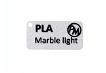 Vzorek PLA MarbleJet - světlá (1,75 mm; 10 m)