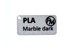 Vzorek PLA MarbleJet - tmavá (1,75 mm; 10 m)