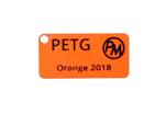 "Vzorek PETG - ""orange 2018"" (1,75 mm; 10 m)"