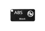 Vzorek ABS - černá (1,75 mm; 10 m)