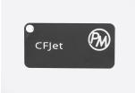 Vzorek PETG CFJet carbon - černá (1,75 mm; 10 m)