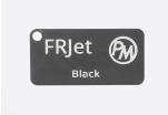 Vzorek PETG FRJet samozhášivý - černá (1,75 mm; 10 m)