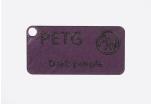 Vzorek PETG - tmavá purpurová (1,75 mm; 10 m)
