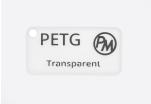 Vzorek PETG - transparentní (1,75 mm; 10 m)
