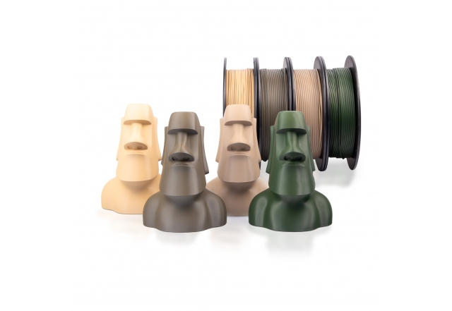 STARTER PACK PLA+ Army edice (1,75 mm; 4x 0,5 kg)