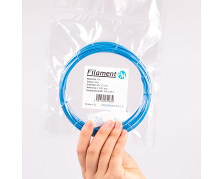 Vzorek PLA - modrá (1,75 mm; 10 m)
