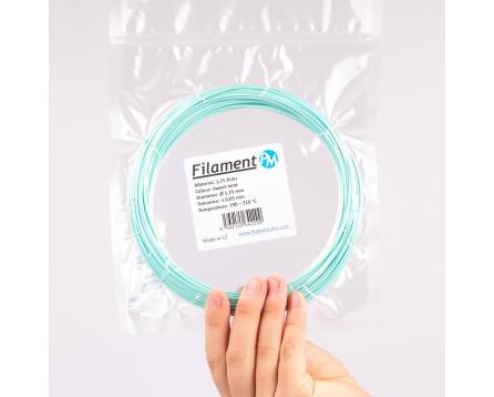 """Vzorek PLA+ - """"Sweet Mint"""" (1,75 mm; 10 m)"""
