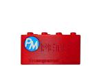 PETG - transparentní červená (1,75 mm; 1 kg)