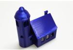 PETG - transparentní modrá (1,75 mm; 1 kg)